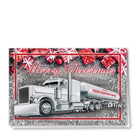 Trucking Christmas Cards - Gift Tanker
