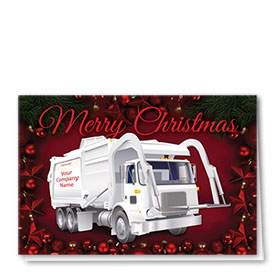 Trucking Christmas Cards - Ruby Refuse
