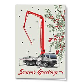 Construction Christmas Cards - Berry Concrete