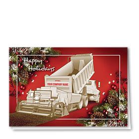 Construction Christmas Cards - Paver Décor