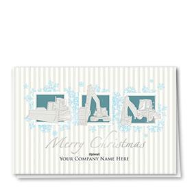 Premium Foil Card -Snowflake Triad