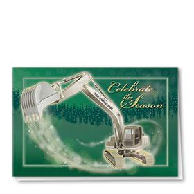 Premium Foil Card - Dazzling Excavator