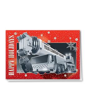Premium Foil Card - Sparkling Snow Crane