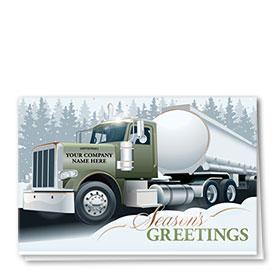 Premium Foil Card - Lovely Tanker