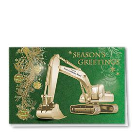 Premium Foil Card - Emerald Excavator