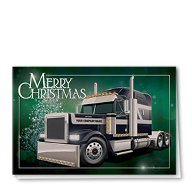 Trucking Company Christmas Cards