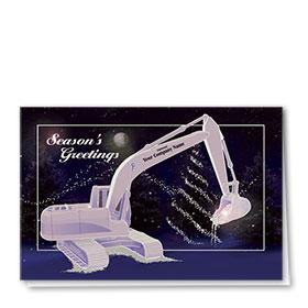 Premium Foil Card - Moonlit Excavator