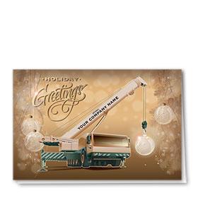 Premium Foil Card - Glowing Crane