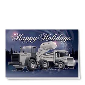 Premium Foil Card - Winter Night