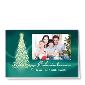 Construction Holiday Cards - Photo Cards - Dsg T01C