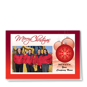 Construction Holiday Cards - Photo Cards - Dsg T04C