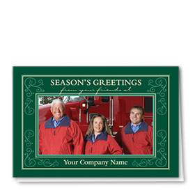 Construction Holiday Cards - Photo Cards - Dsg T05C