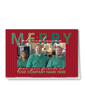 Construction Holiday Cards - Photo Cards - Dsg T06C