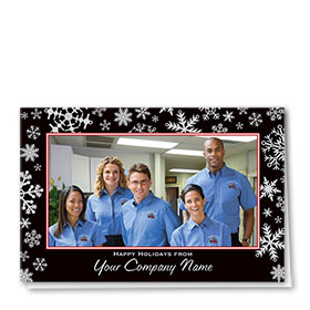 Construction Holiday Cards - Photo Cards - Dsg T08C