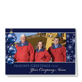 Construction Holiday Cards - Photo Cards - Dsg T09C