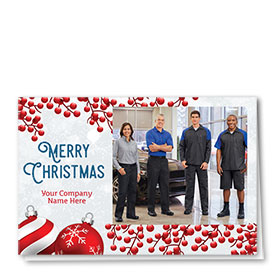 Christmas Cards - Photo Cards - Dsg T12C