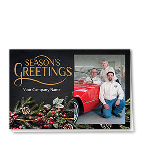 Christmas Cards - Photo Cards - Dsg T13C