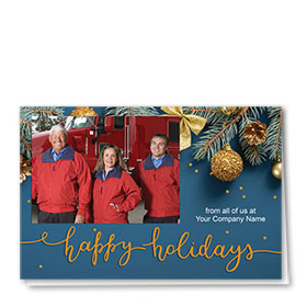 Christmas Cards - Photo Cards - Dsg T14C