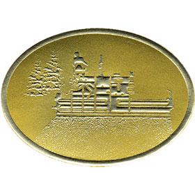 Gold Foil Seal - Paving