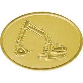 Gold Foil Seal - Excavator