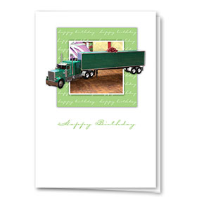Trucker Birthday Cards - Birthday Surprise