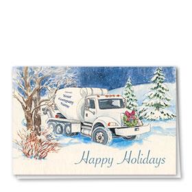 Holiday Card-Indigo Sky