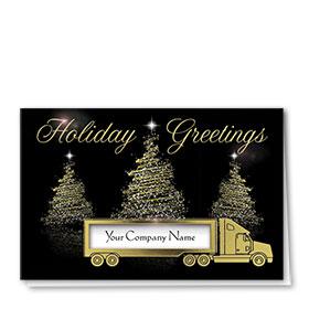Premium Foil Card - Opulent Truck