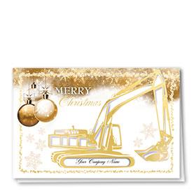 Premium Foil Card - Gilded Excavator