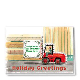 Holiday Card-Lumber Greetings