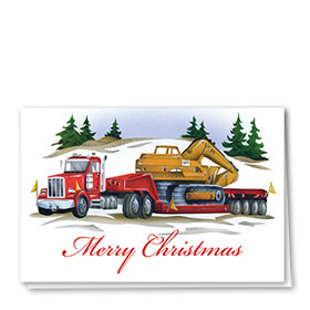 Holiday Card-Big Red