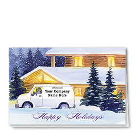 Trucking Christmas Cards - Save the Day