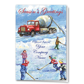 Construction Christmas Cards - Nostalgic Concrete