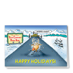 Construction Christmas Cards - Rudy's Paving