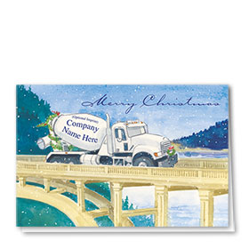 Construction Christmas Cards - Holiday Bridge