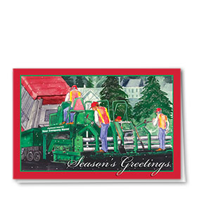 Construction Christmas Cards - Christmas Crew