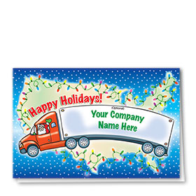 Trucking Christmas Cards - Trucking USA