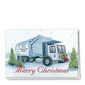 Construction Christmas Cards - Timeless Refuse