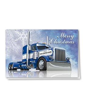 Holiday Card-Cobalt Christmas