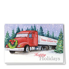 Holiday Card-Through the Forest