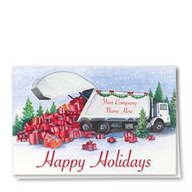 Holiday Card-Plentiful Presents