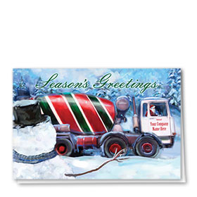 Holiday Card-Stripe Concrete