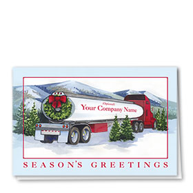 Holiday Card-Timberland Tanker