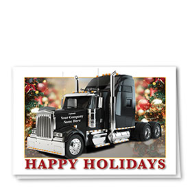 Trucking Christmas Cards - Bedecked Holiday