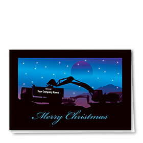 Construction Christmas Cards - Afterlight Load