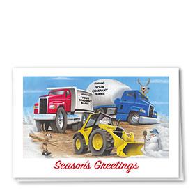 Construction Christmas Cards - Primary Trio