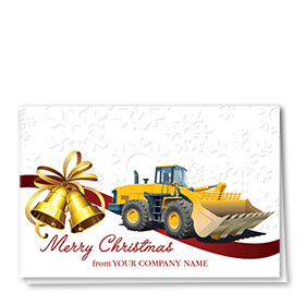 Construction Christmas Cards - Bell Loader