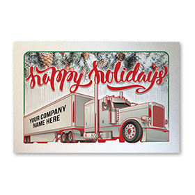 Pearl Paper Flat Cards - Truck Shimmer