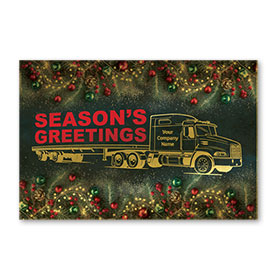 Pearl Paper Flat Cards - Gold Outline Flatbed