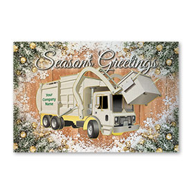 Pearl Paper Flat Cards - Frosty Refuse