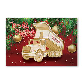 Pearl Paper Flat Cards - Merry Roll Off
